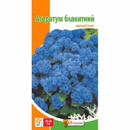 Агератум голубой Яскрава рисунок 1 артикул 90423