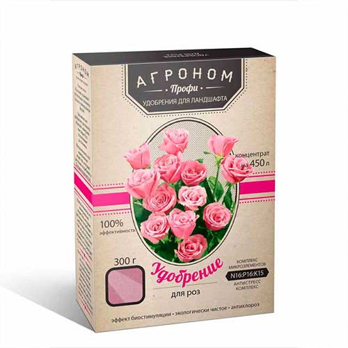 Добриво Агроном Профі для троянд зображення 1 артикул 72878