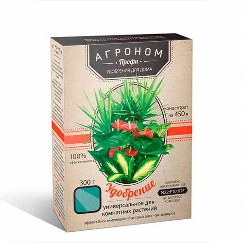 Добриво Агроном Профі універсальний для кімнатних рослин зображення 1 артикул 72884