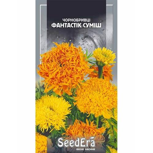 Бархатцы Фантастик, смесь окрасок Seedera рисунок 1 артикул 90011