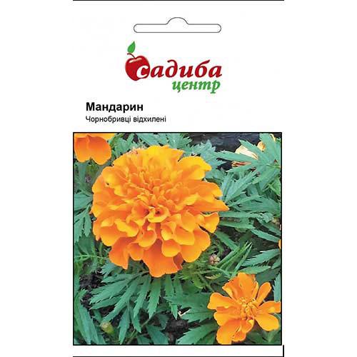 Бархатцы Мандарин Садыба центр рисунок 1 артикул 89821