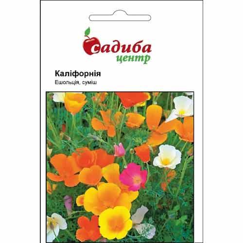 Эшшольция Калифорния, смесь окрасок Садыба центр рисунок 1 артикул 72894