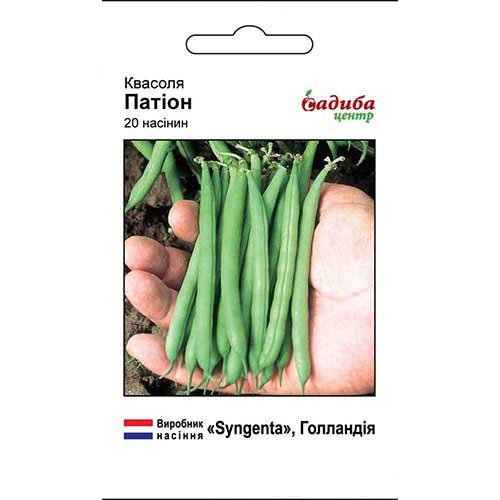 Фасоль овощная Патион Садыба центр рисунок 1 артикул 89339