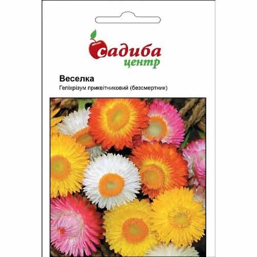 Гелихризум Радуга, смесь окрасок Садыба центр рисунок 1 артикул 89184