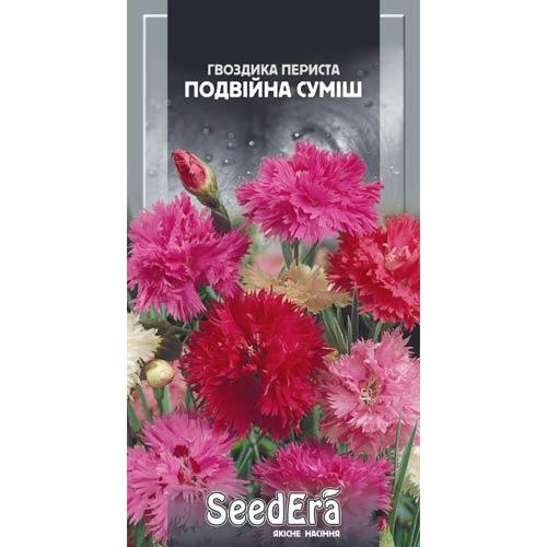 Гвоздика перистая махровая, смесь окрасок Seedera рисунок 1 артикул 66394