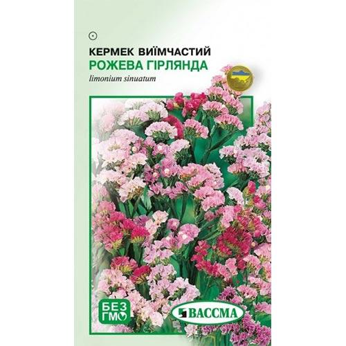 Кермек Розовая гирлянда Seedera рисунок 1 артикул 72726