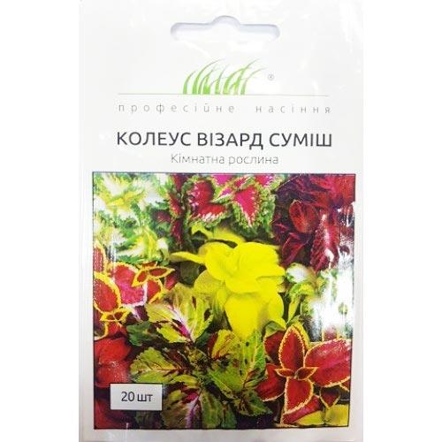 Колеус Визард, смесь окрасок Профессиональные семена рисунок 1 артикул 66213