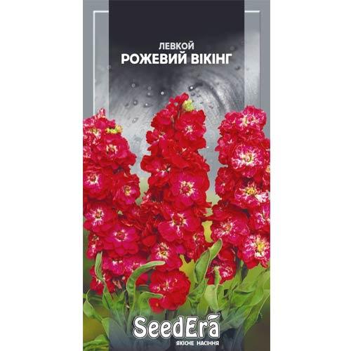 Левкой Розовый Викинг Seedera рисунок 1 артикул 77028