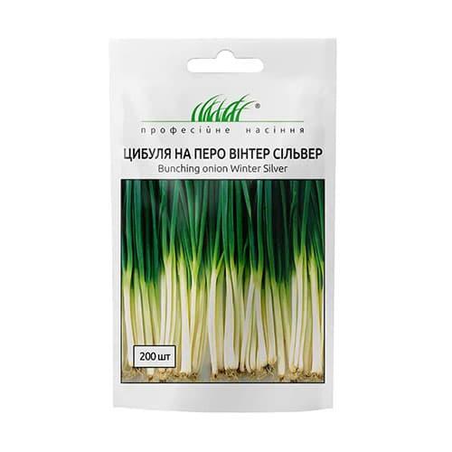 Лук на зелень Винтер Сильвер Профессиональные семена рисунок 1 артикул 90386