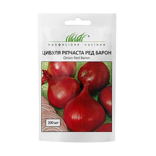 Цибуля ріпчаста червона Ред Барон Професійне насіння зображення 1 артикул 72653