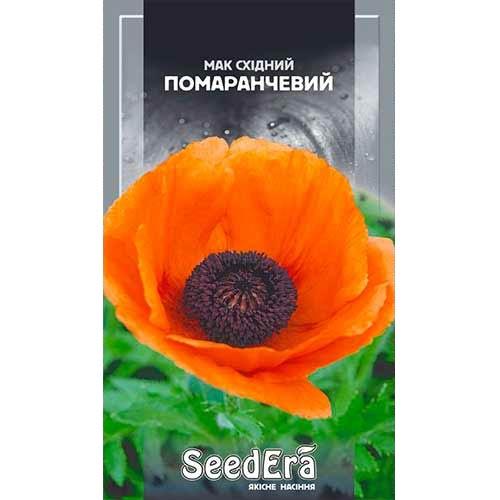 Мак восточный оранжевый Seedera рисунок 1 артикул 77041