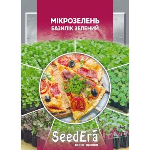 Мікрозелень Базилік Seedera зображення 1 артикул 72335