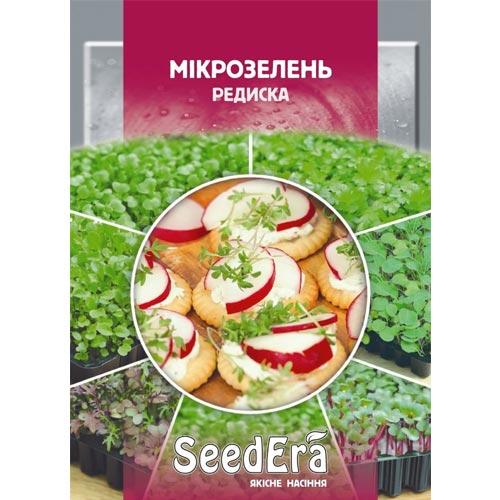 Микрозелень Редис Seedera рисунок 1 артикул 90028