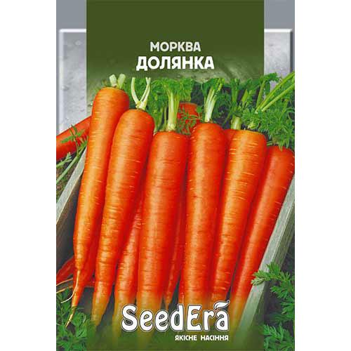 Морковь Долянка Seedera рисунок 1 артикул 90091