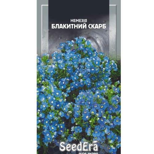 Немезия Голубое сокровище Seedera рисунок 1 артикул 77063