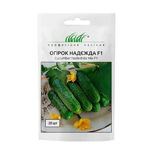Огірок Надя F1 Професійне насіння зображення 1 артикул 65466