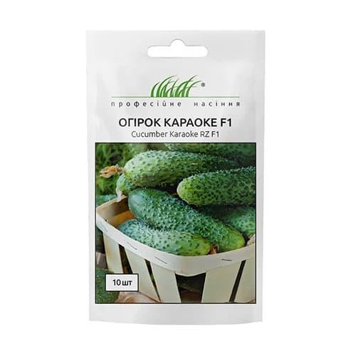 Огірок Караоке F1 Професійне насіння зображення 1 артикул 72389