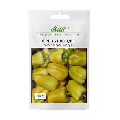 Перець солодкий Блонді F1 жовтий Професійне насіння зображення 1 артикул 72420