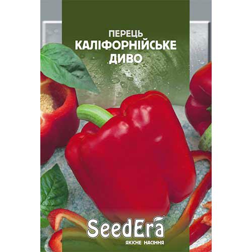Перец сладкий Калифорнийское чудо Seedera рисунок 1 артикул 90157