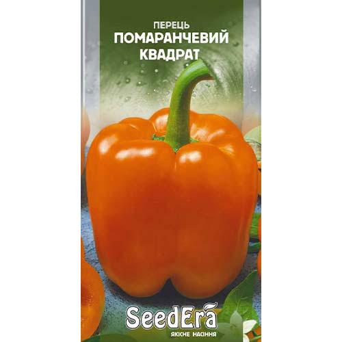 Перец сладкий Оранжевый квадрат Seedera рисунок 1 артикул 77278