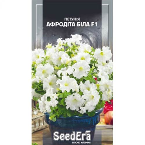 Петуния Афродита белая F1 Seedera рисунок 1 артикул 66425