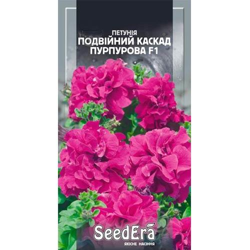 Петунія Подвійний Каскад пурпурова F1 Seedera зображення 1 артикул 66429