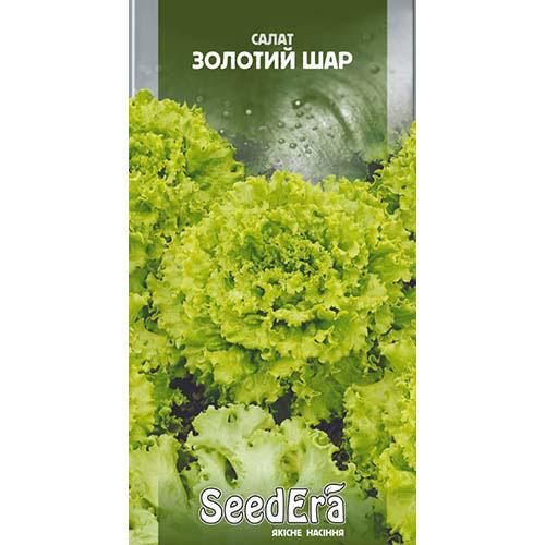 Салат листовой Золотой шар Seedera рисунок 1 артикул 77304