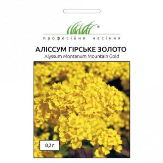 Алиссум Горное золото Профессиональные семена рисунок 3