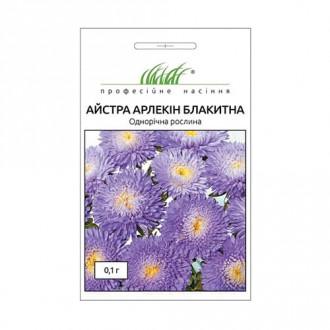 Айстра Арлекін блакитна Професійне насіння зображення 8