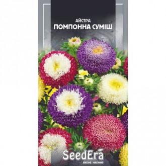 Айстра Помпонна, суміш забарвлень Seedera зображення 1