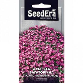 Обрієта Рожево-фіолетовий каскад Seedera зображення 1