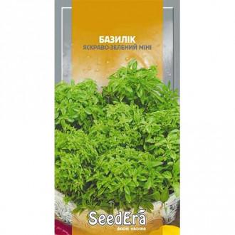 Базилік Міні яскраво-зелений Seedera зображення 1