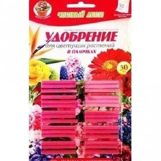 Удобрение Чистый Лист палочки для цветущих растений рисунок 4