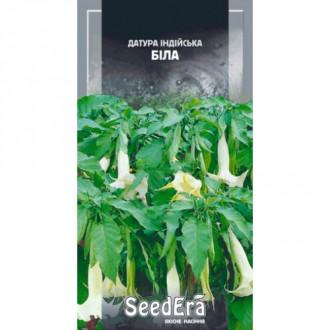 Датура індійська біла Seedera зображення 1