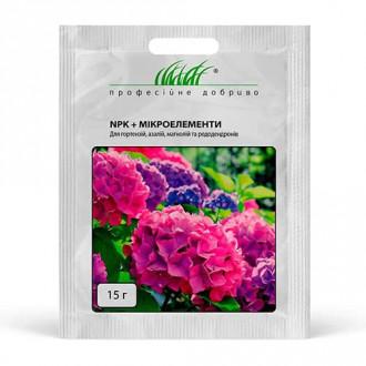 Удобрение NPK + микроэлементы для гортензий, азалий, магнолий, рододендронов рисунок 5