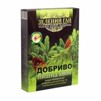 Удобрение Зеленый гай Пышная хвоя рисунок 8