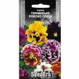 Фиалка Германское Рококо, смесь окрасок Seedera рисунок 5