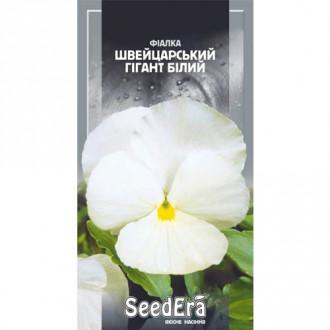Фиалка Швейцарский гигант белый Seedera рисунок 6