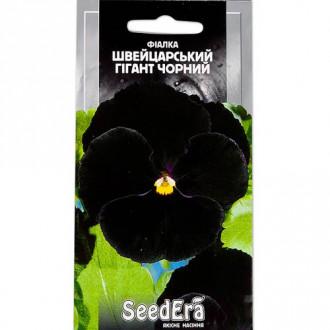 Фиалка Швейцарский гигант черный Seedera рисунок 8