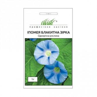 Іпомея Блакитна зірка Професійне насіння зображення 3