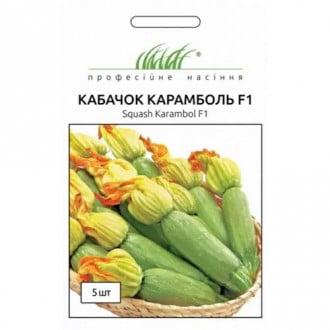 Кабачок Карамболь F1 Професійне насіння зображення 2