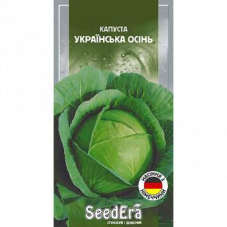 Капуста білокачанна Українська осінь Seedera зображення 1