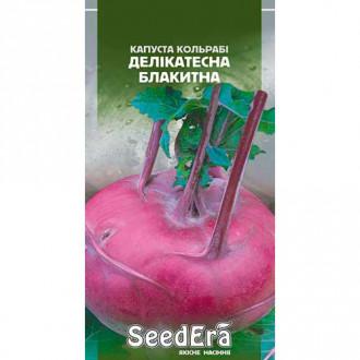 Капуста кольраби Деликатесная голубая Seedera рисунок 8