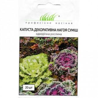Капуста Нагоя, суміш забарвлень Професійне насіння зображення 4