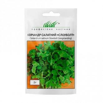 Кориандр Слоуболт Профессиональные семена рисунок 2