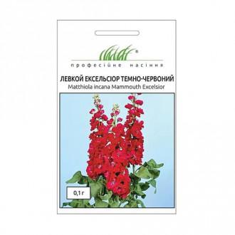 Левкой Эксельсиор темно-красный Профессиональные семена рисунок 4