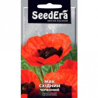 Мак восточный красный Seedera рисунок 7
