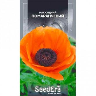Мак восточный оранжевый Seedera рисунок 5