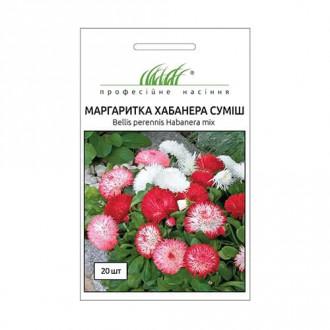 Маргаритка Хабанера, смесь окрасок Профессиональные семена рисунок 6