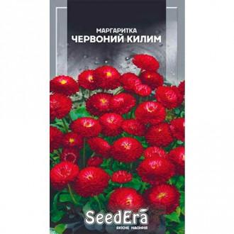 Маргаритка Красный ковер Seedera рисунок 7